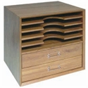 Immagine di Box ripiani + cassetti