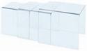 Immagine di Tavolini Quadrati grandi per vetrina-cm.45x40x45